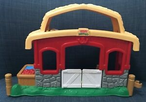 Fisher Price Little People Animal Sounds Stable Barn Only ...