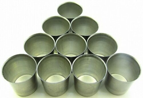 Seamless Metal VOTIVE Candle Molds Lot of 50