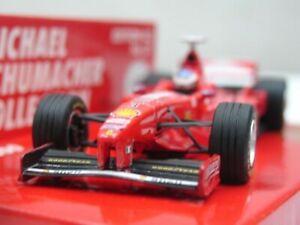 Wow Extrêmement Rare Ferrari F300 Schumacher 37 Vainqueur France 1998 1:43 Minichamps 4012138070820
