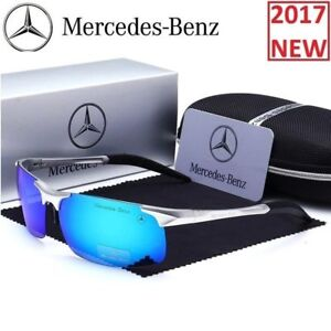520bf6de81a1 Image is loading Mercedes-Sunglasses-Luxury-Benz-Glasses-2018-Men-Polarized-