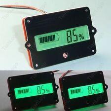 Digital LCD Indicator Battery capacity Tester F/Lead-acid Lithium Cell LiPo 12v