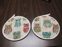 Owls, Potholders