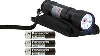 Flashlight - 2-in-1, Led/laser, Black, 4.5in.