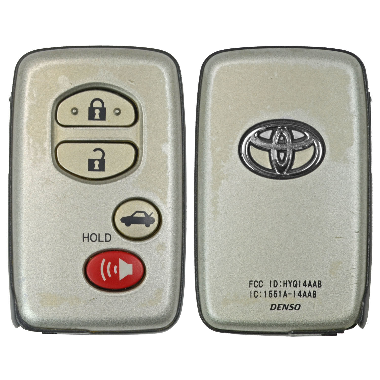 Toyota Camry Smart Key Protective Leather Remote Case 2007-2009 HYQ14AAB