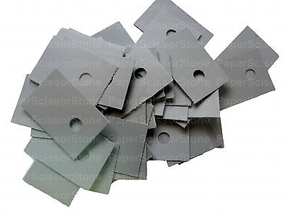 500pcs TO-220 Thermal Silicone Rubber & Fiberglass Composite Insulator Pad 0.3mm