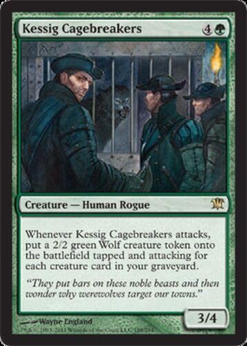 4x Kessig Cagebreakers Innistrad NM-Mint English MTG