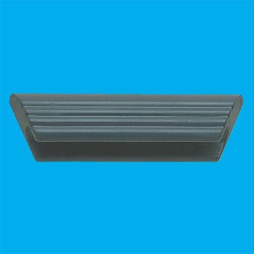 105 mm gris foncé Plastique D Forme Poignée De Meuble Tiroir Armoire