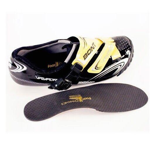 Ciclismo zapatos plantillas hecho a mano personalizado para adaptarse a tu pie  Garantizada