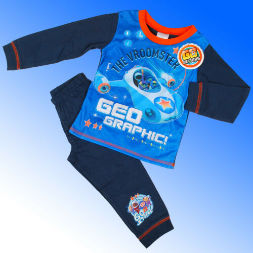 Boys Official Genuine Go Jetters Pyjamas Age 2 3 4 5 Years
