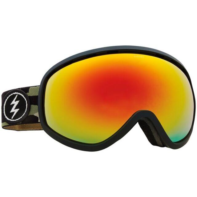 Electric Masher Camo Brose Red Mirror Mens Ski Snowboard Goggles Ret For Sale Online Ebay