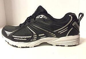 Danskin Now Women's Athletic Sneakers School Shoes Sz 6.5 Black Silver New B304