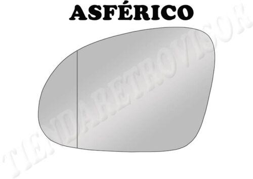 CRISTAL RETROVISOR SKODA SUPERB 2005-2008 ASFERICO