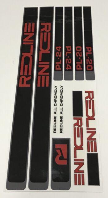 Redline PL 20 Carrera II 1983 Decal Set Era Correct Suit Your Old School BMX