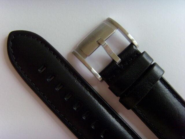 Fossil Original Rechange Bracelet en Cuir ME1098 de Montre Brun Marron 22 Mm