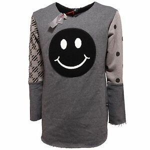 Uomo Felpa Sweatshirt Nero 1 Loft Men grigio 5356q z45BwqxRR