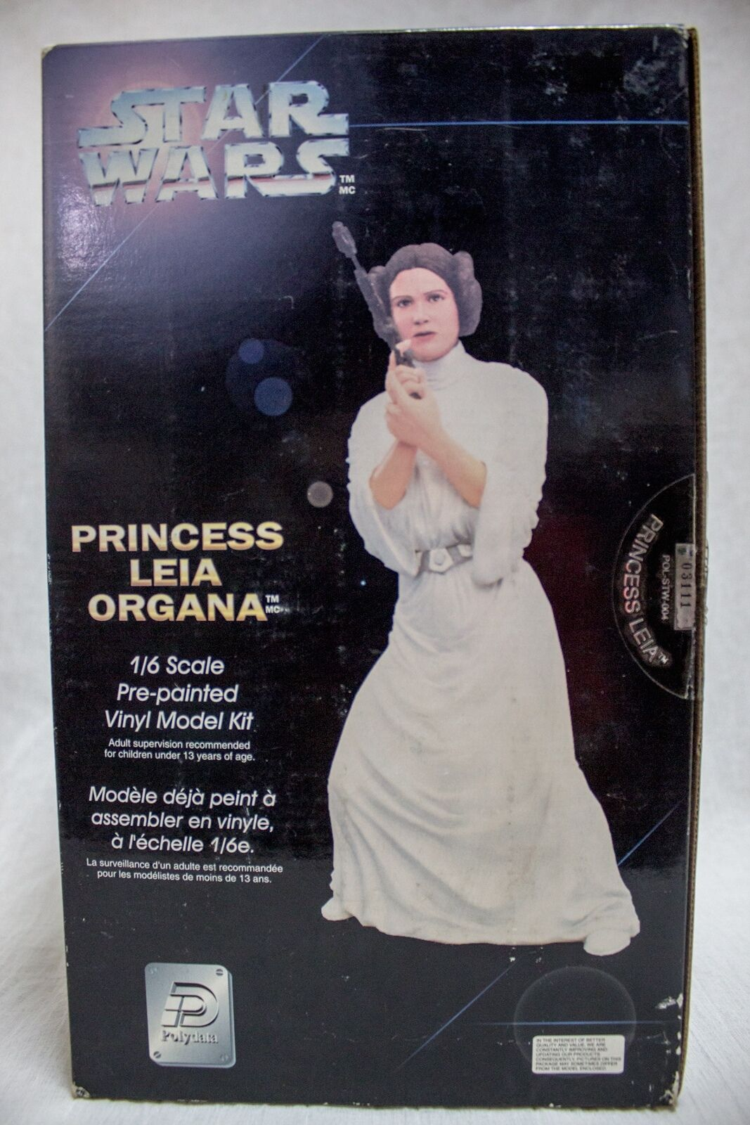 Star Wars 1 6 scale pre-painted Vinyl Model Kit Princess Leia Organa Figure