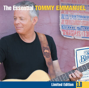 TOMMY-EMMANUEL-The-Essential-3-0-3CD-BRAND-NEW-Best-Of-Greatest-Hits
