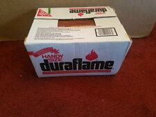 Case of 9 Natural Duraflame Fire Logs 6 Lb Gas Logs Stove ...