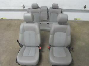 15-17-BUICK-VERANO-Complete-Seat-Set-Front-Rear-Seats-Leather-Cloth-Manual-Gray