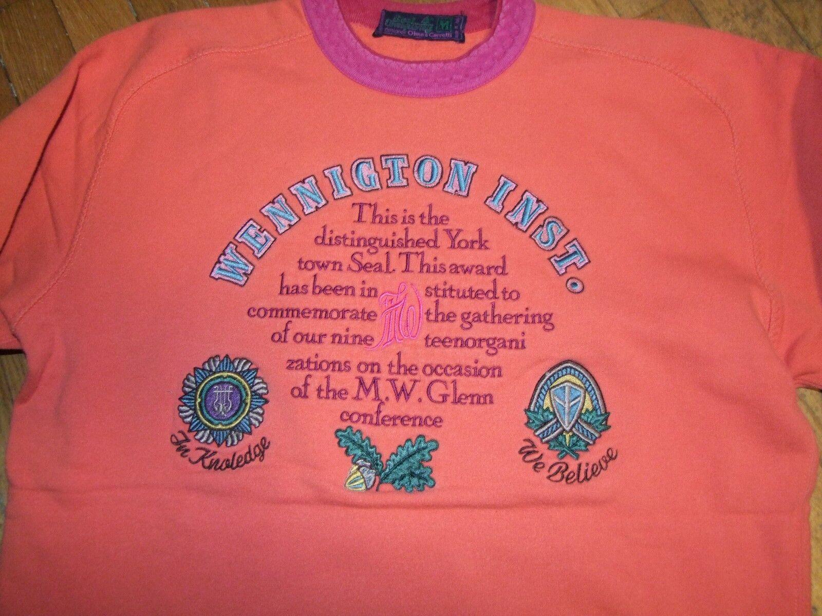 Felpa sweater Best Company Olmes Carretti vintage anni 80 paninaro