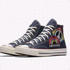 Converse Chuck Taylor All Star HI Pride Parade HighTop Blue Rainbow Size 9 cb46511b8