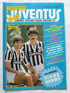 HURRA-039-JUVENTUS-N-10-OTTOBRE-1984-RITIRO-DINO-ZOFF-ILVES-TAMPERE-BONIEK-PLATINI