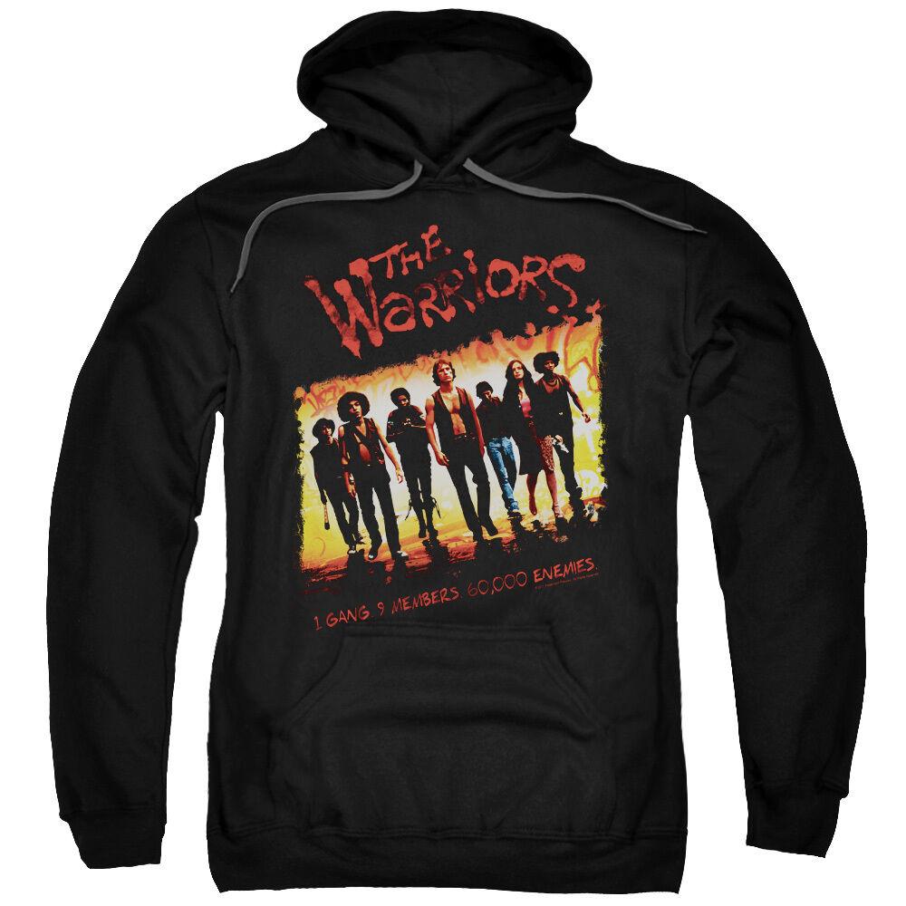 The Warriors Movie Cast ONE GANG, 9 Members Adult Sweatshirt Hoodie