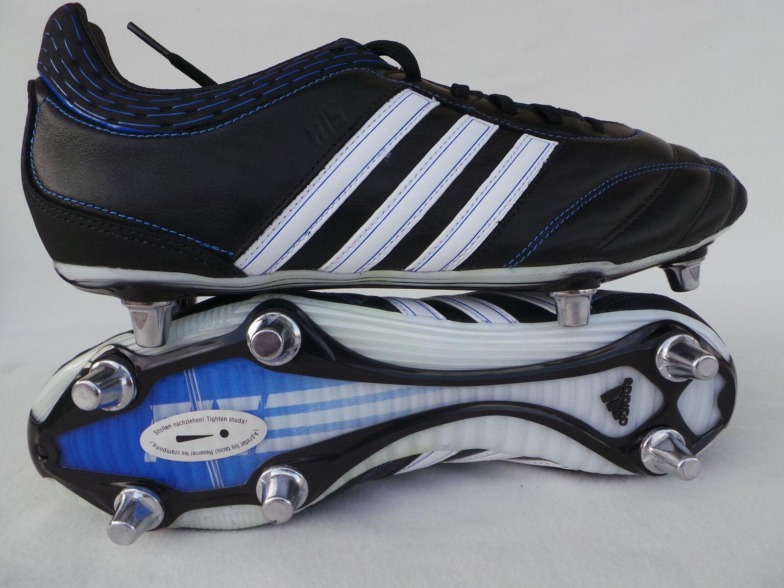 Adidas R15 Sg 2 schuhe da Calcio Rugby schuhe Bianco schwarz Erl 45 1 3 48