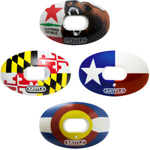 Battle-Sports-Science-State-Flag-Oxygen-Lip-Protector-Mouthguard-with-Strap