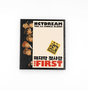 NCT-DREAM-1st-single-album-The-First-Only-Album-Photobook-CD-No-photocard