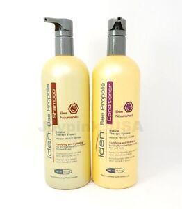 Iden-Bee-Propolis-Nourished-Shampoo-32oz-Conditioner-32oz-For-dry-Damaged