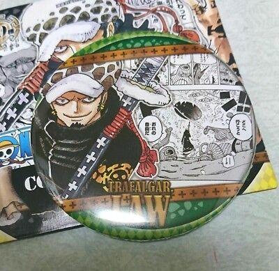 One Piece Can Badge Button Trafalgar Law Yakara HEROES COLLECTION Eiichiro Oda h