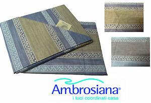 Completo-letto-Lenzuola-100-Cotone-AMBROSIANA-8474-Singolo-e-Matrimoniale