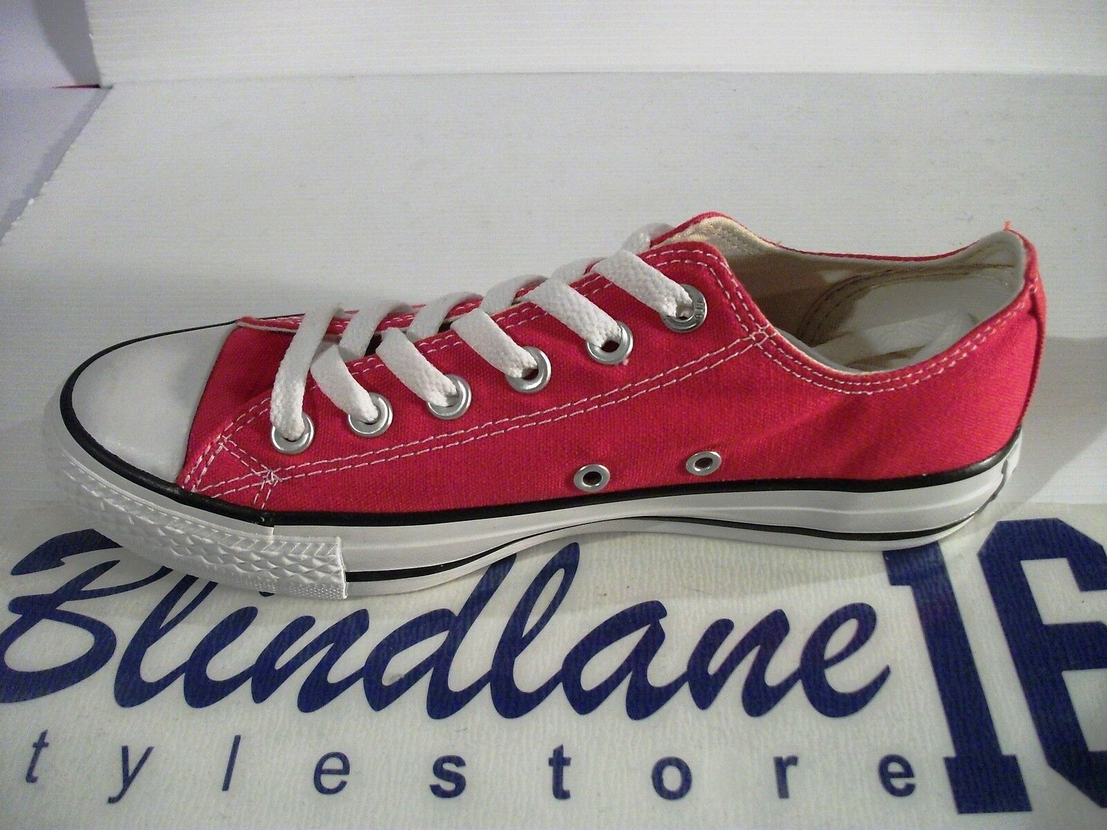 067 SCARPE CONVERSE CT AS BASSE OX CANVAS CORE    ROSSO X M9696 EUR 45 49efa9
