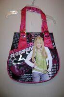 Disney Hannah Montana Satin Handbag Tote Black
