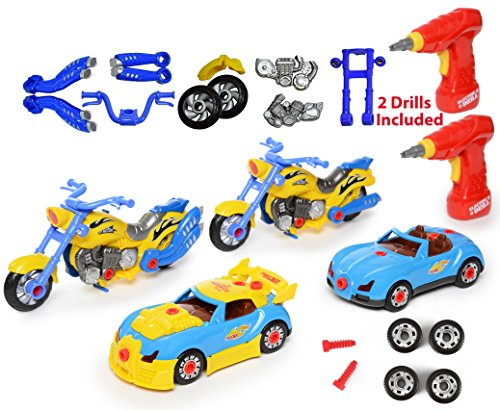 (auto & motorrad - spielzeug - bauen ihr eigenes eigenes eigenes spielzeug mit 52 st  ck co... 52f30e