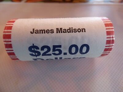 BU 2008 James Monroe P Dollar Roll From Bag Uncirculated Mint or Bank