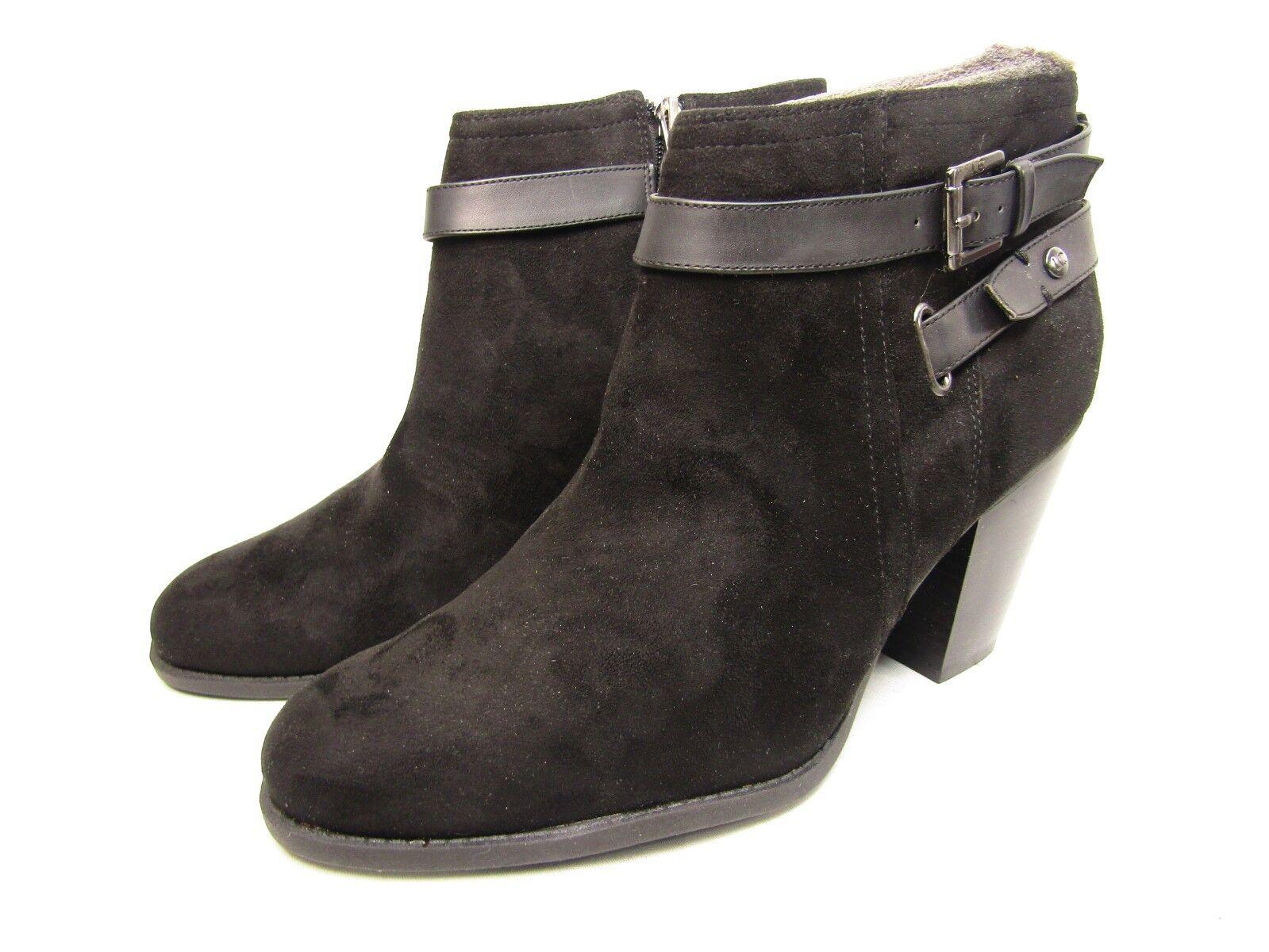 Liz claiborne Fawn Mujer botas botas botas al Tobillo Cremallera Lateral Talla Negro 11W  comprar barato