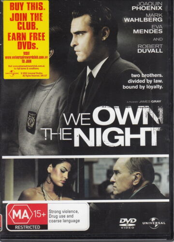 1 of 1 - We Own the Night - DVD REGION 2, 4