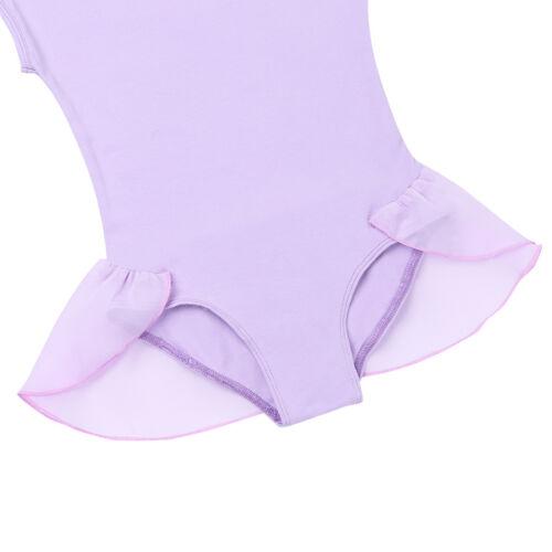 Girls Ballet Tutu Dress Dance Wear Leotard Gymnastics Toddler Bodysuit Costumes