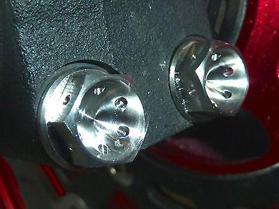 SUZUKI GSX1300BK B-KING 2007-on FRONT FORK pizzico Bullone Set Titanio TI BULLONE ESAGONALE
