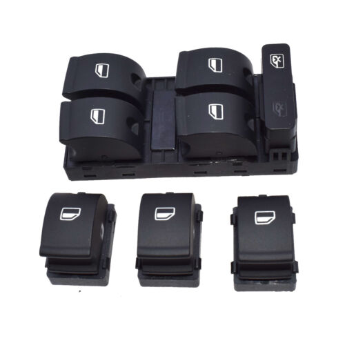 4 X Electric Power Window Switch Button 8ED959851 For Audi A4 02-08 B6 B7 S4