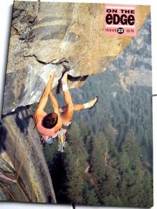 23 On The Edge Magazine Ote Escalade Alpin Alpinisme-afficher Le Titre D'origine