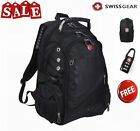 WENGER SWISSGEAR 17 inch Laptop Swiss Backpack Outdoor Travel Rucksack