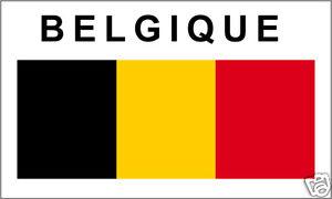 15 Drapeaux Sticker Vinyl Etiquette LABEL Etiqueta Aufkleber BELGIQUE