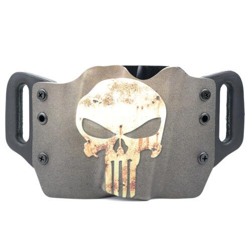 CZ FN Handguns Diamondback PUNISHER GREEN TAN OWB Kydex Holster For Colt