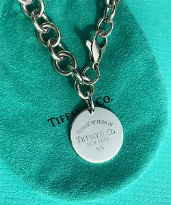 becd73825 Image is loading Tiffany-amp-Co-Sterling-Silver-Return-To-Tiffany-