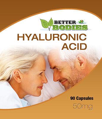 Hyaluronic Acid 50mg Capsules UK Manufactured