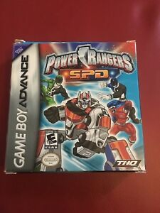 Image is loading Power-Rangers-S-P-D-Nintendo-Game-Boy-Advance-Game-