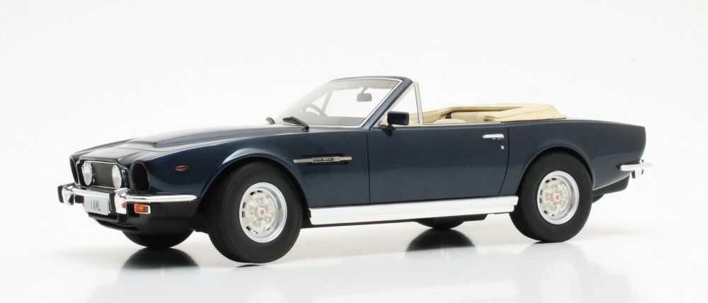 CULT MODELS CML032-1  ASTON MARTIN V8 VOLANTE model car bluee 1978 1 18th scale